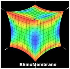 Rhino Membrane - zásuvný modul pro Rhino na relaxaci plochy